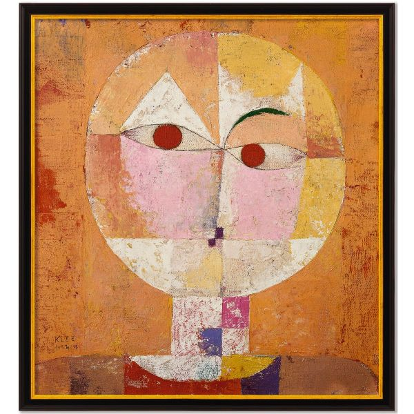 Paul Klee: Bild »Baldgreis«, gerahmt