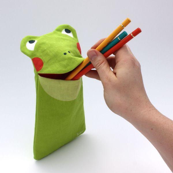 Zookids Stiftemäppchen »Froggi Frosch«
