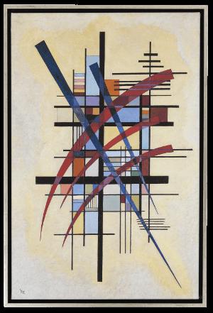 Kandinsky, Wassily: »Zeichen mit Begleitung«, 1927