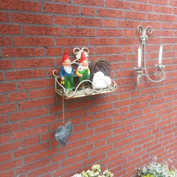 Gartenzwerg »Erich mit Blume«