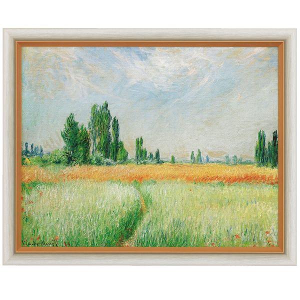 Monet, Claude: »Weizenfeld«, 1881