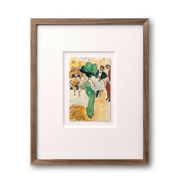 Max Pechstein »Drei Künstlerpostkarten«, 1910-1915