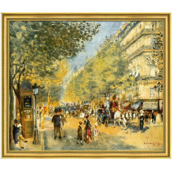 Renoir, Auguste: »Die großen Boulevards«, 1875