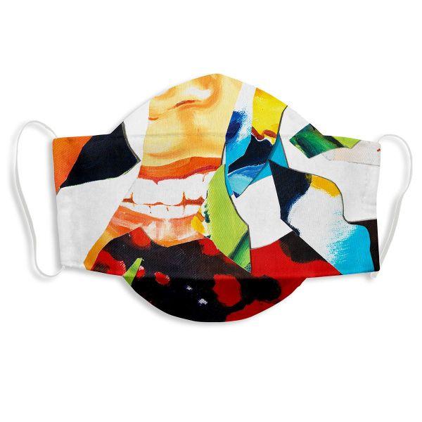 Weltkunstwelt-Maske »Painkiller« von Norbert Bisky