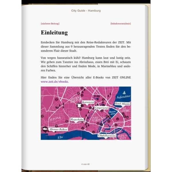 »Hamburg - DIE ZEIT CITY GUIDE«