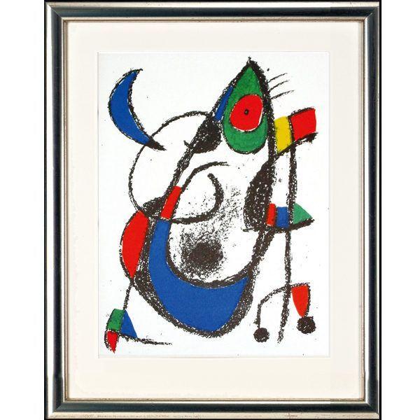 Miró, Joan: »O. T. (Motiv Eule)«