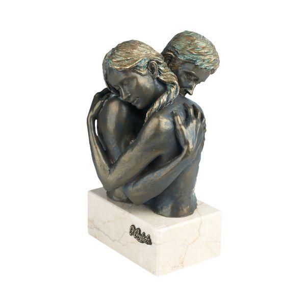 Anglada, Angeles: Skulptur »Idyll«, Kunstguss Steinoptik