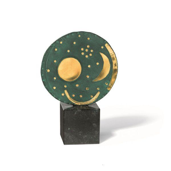 Skulptur »Himmelsscheibe von Nebra« (Reduktion)