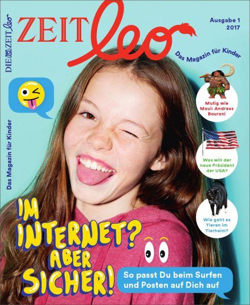 ZEIT LEO 1/17 Im Internet? Aber sicher!