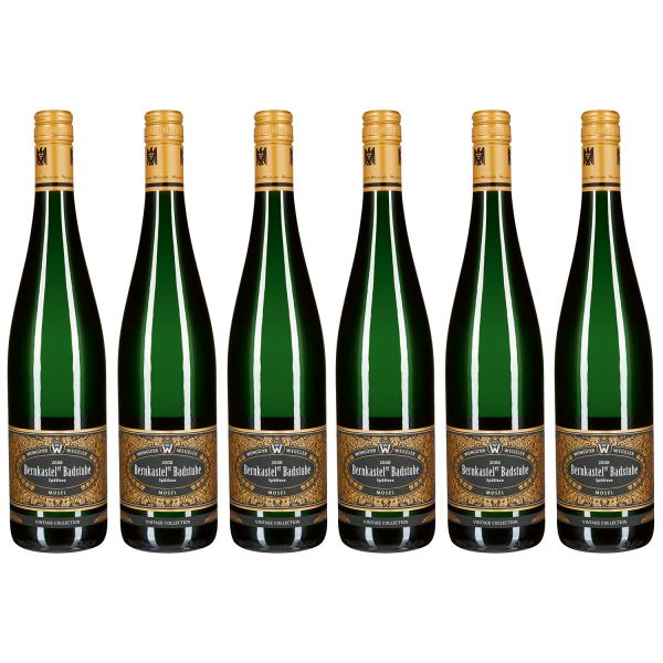 Bernkasteler Badstube Riesling Spätlese, Vintage Collection, 2008 (6 Flaschen)