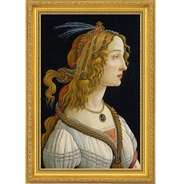 Botticelli, Sandro: »Weibliches Idealbildnis«, 1485/86