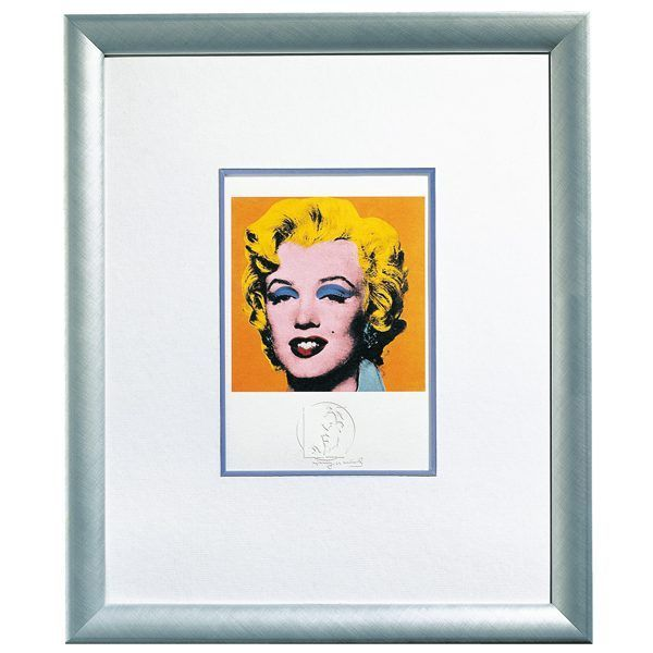 Warhol, Andy: »Shot Orange Marilyn«