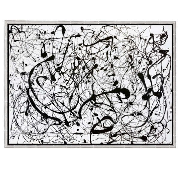 Pollock, Jackson: »Number 14: Gray«, 1948