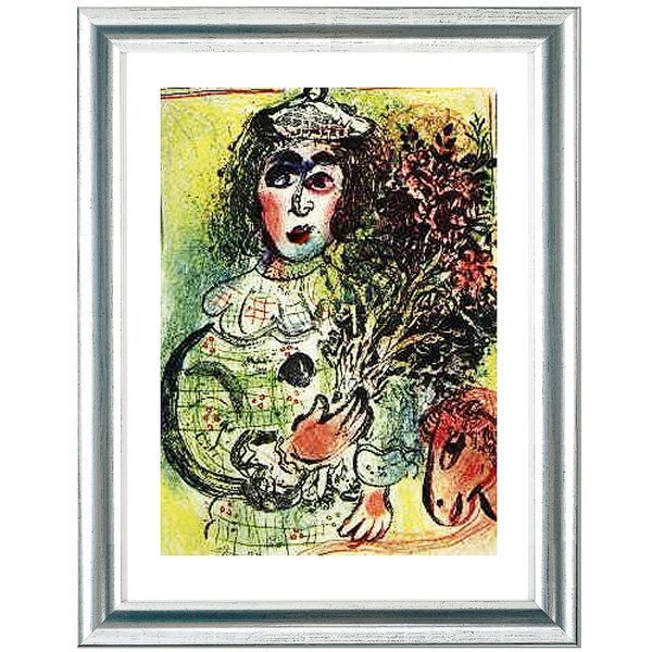 Chagall, Marc: »Le Clown fleuri«