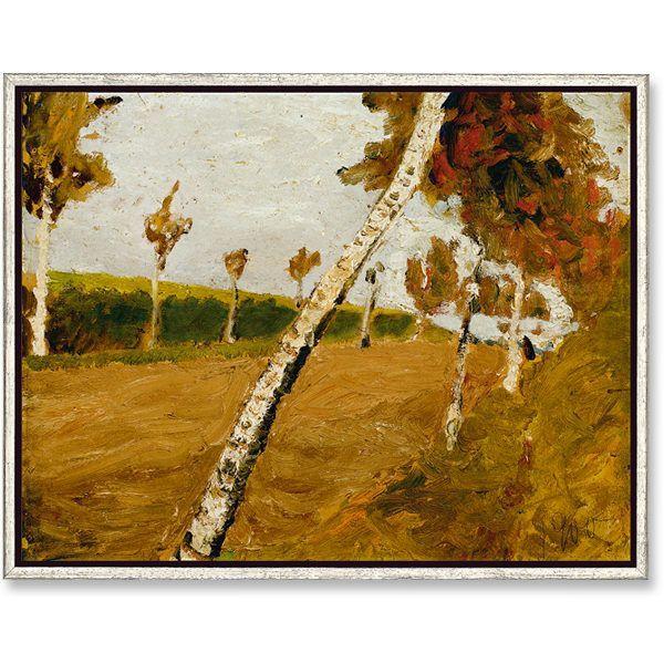 Modersohn-Becker, Paula: »Birkenallee«, 1900