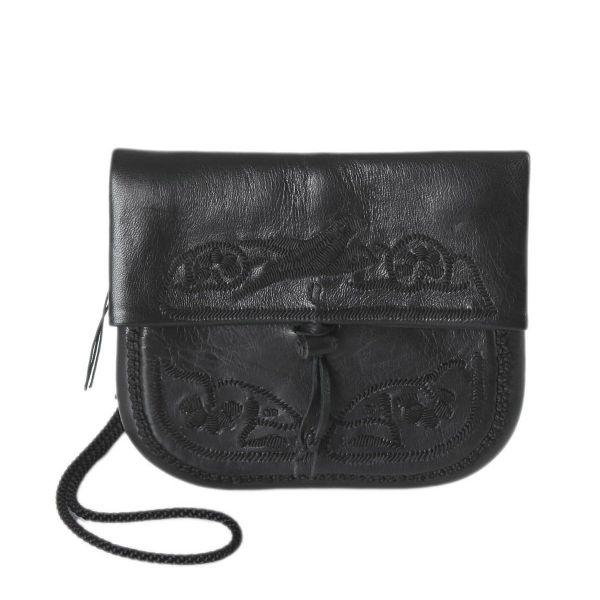 »Berber Bag« Tasche Mini Schwarz