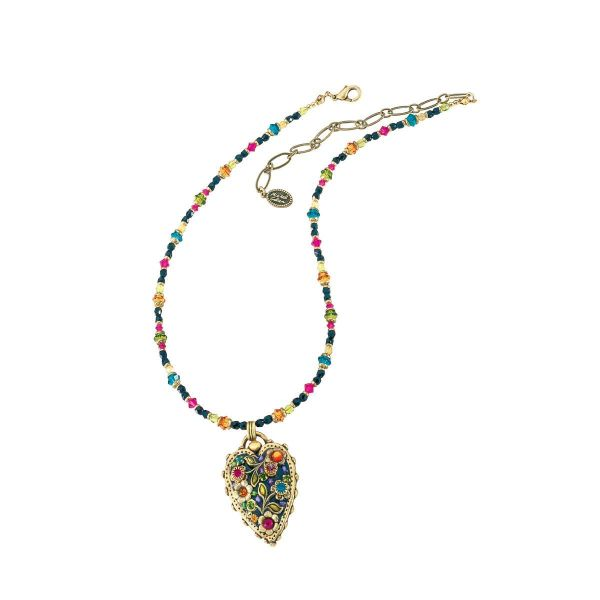Collier »Multi Flower Kristall« nach Michal Golan
