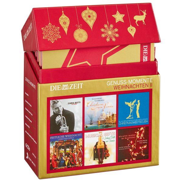 6 CDs »Weihnachten II« DIE ZEIT Genuss-Momente