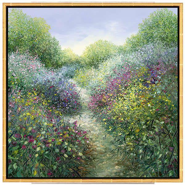 Cubaynes, Jean-Claude: »Chemin Fleurie en Provence«
