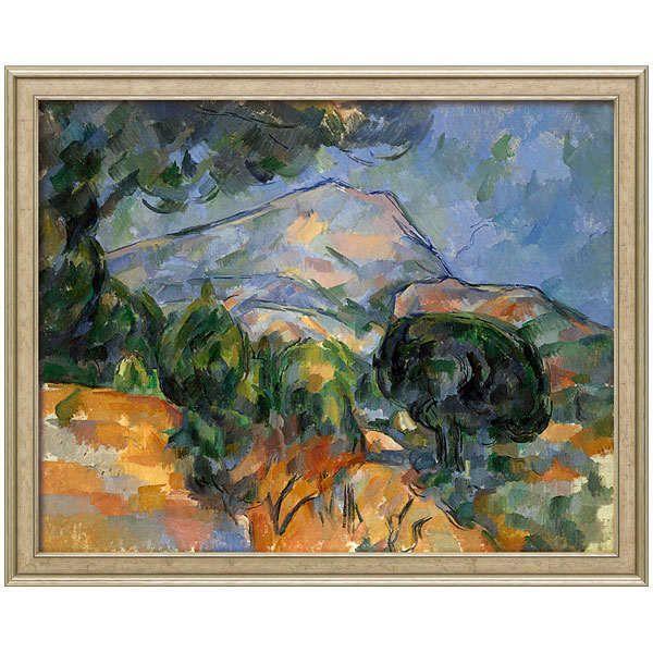 Cézanne, Paul: »La Montagne Sainte-Victoire«, um 1894