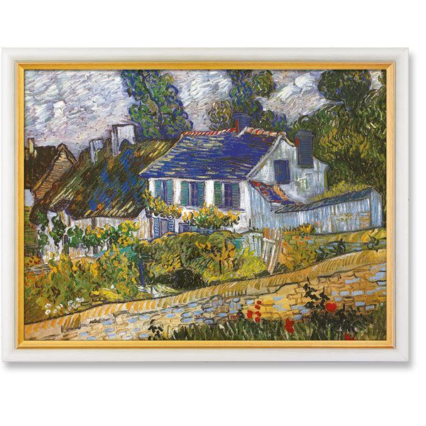 van Gogh, Vincent: »Häuser in Auvers«, 1890
