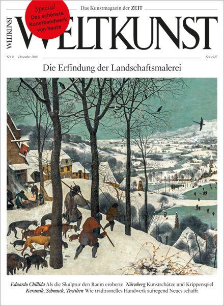 WELTKUNST 151/18 Die Erfindung der Landschaftsmalerei