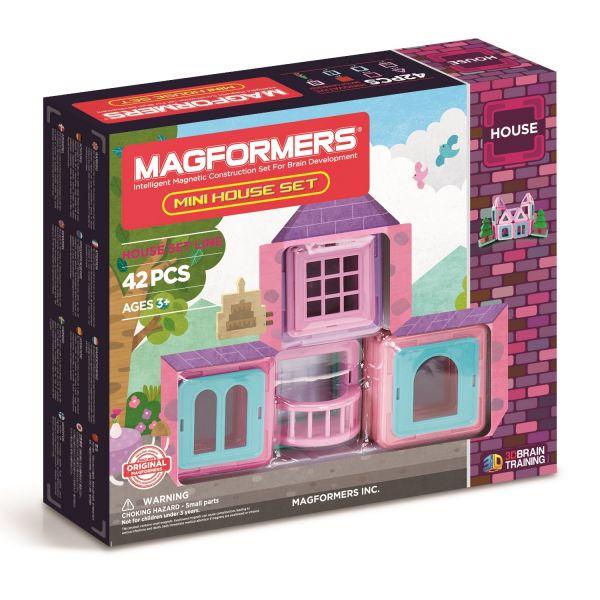 Magformers Mini-House Set + Figur