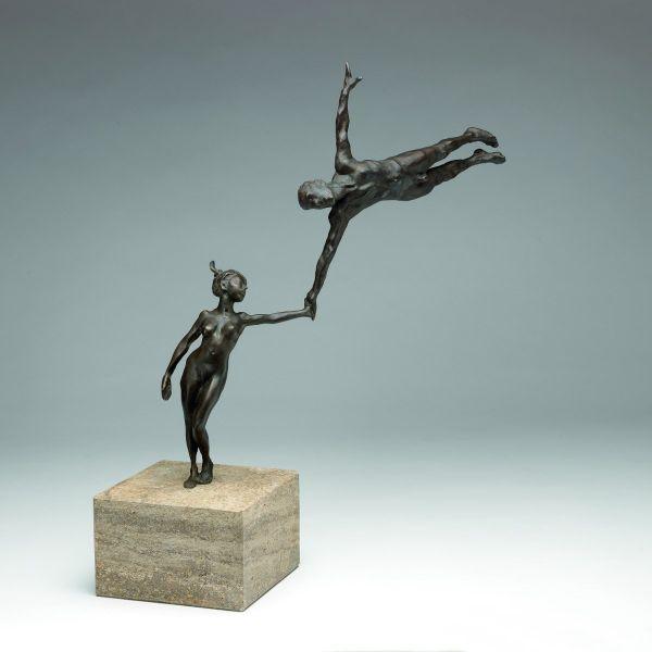 Antonio de Andrés-Gayón: Skulptur »Vertrauen - Kunststück Partnerschaft«