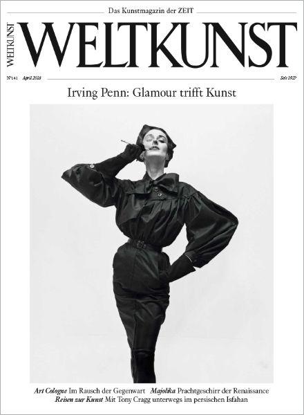 WELTKUNST 141/18 Irving Penn: Glamour trifft Kunst