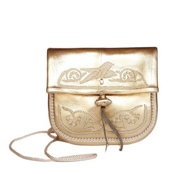 »Berber Bag« Tasche Mini Gold