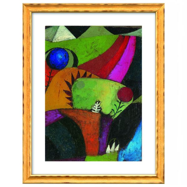 Klee, Paul: »Drei weiße Glockenblumen«, 1920