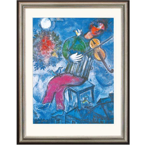 Chagall, Marc: »Le Violoniste Bleu (Blauer Geiger)«, 1947