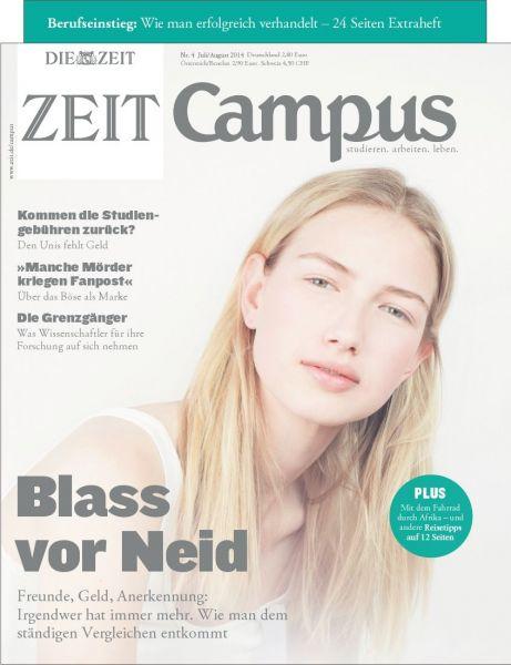 ZEIT CAMPUS 4/14 Blass vor Neid