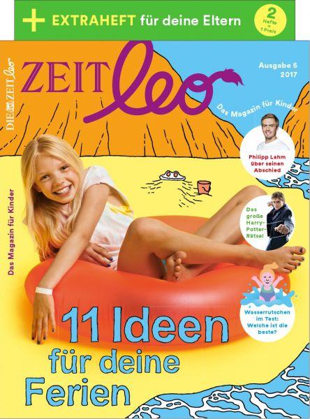 ZEIT LEO 5/17 11 Ideen für deine Ferien