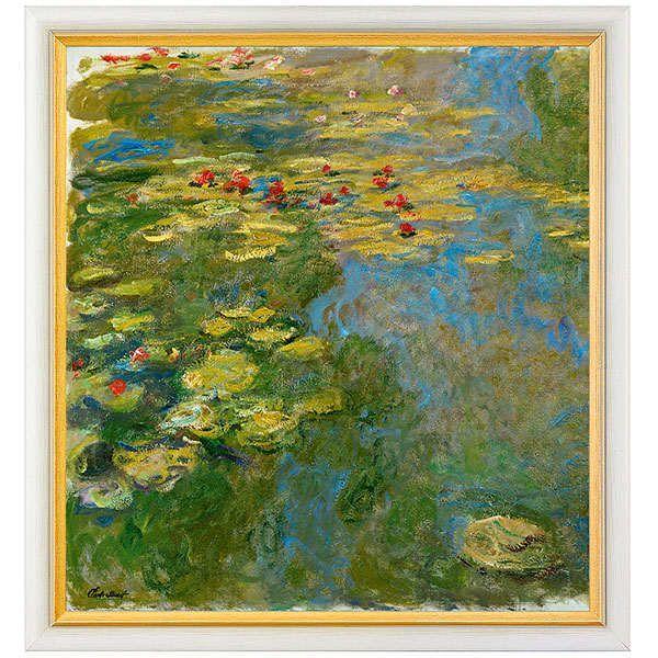 Monet, Claude: »Le Bassin aux nymphéas, partie gauche«, 1917–19