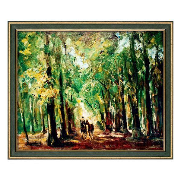 Liebermann, Max:»Reiter im Tiergarten«, 1920