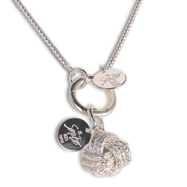 Zivo, Sanja: Silberkette »Glücksknoten«