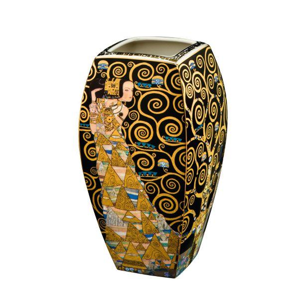 Porzellanvase »Lebensbaum«, nach Gustav Klimt
