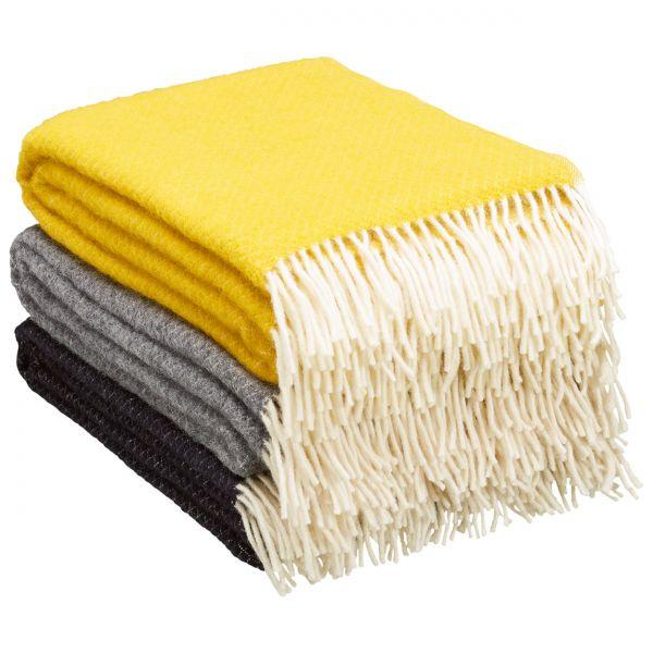 Decke »Vega« aus 100% Lammwolle