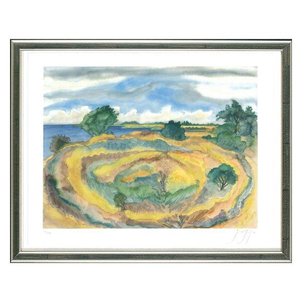 Grass, Günter: »An der Küste (Seenlandschaft)« (2006)