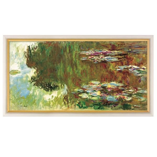 Monet, Claude: »Le bassin aux nymphéas« (Der Seerosenteich), 1917-1919