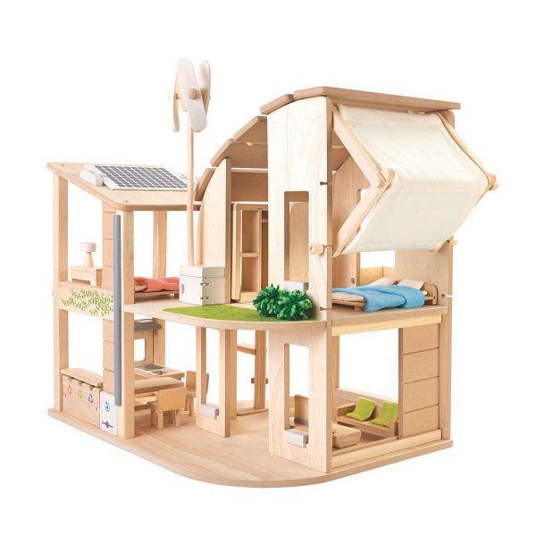 Grünes Puppenhaus »Nachhaltigkeit«