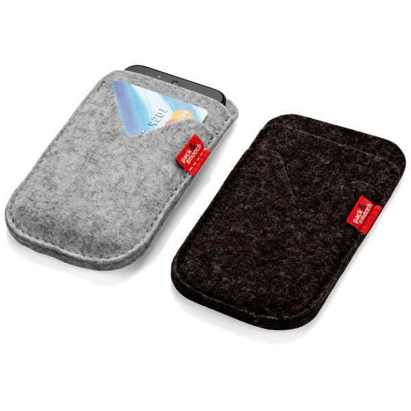 Smartphone-Etui aus Wollfilz